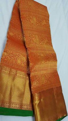 Over - Kanjivaram / Saree Store: Fashion Kanjivaram Sarees Silk, Indian Silk Sarees, Pure Silk Sarees, Indian Beauty Saree, Cotton Saree, Gold Silk Saree, Bridal Silk Saree, South Indian Wedding Saree, Wedding Sarees