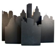 Sex & the City Party Theme Hire: City Skyline Cutout