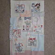 Starting to place my background bits on my quilt. #jessiechorleyfriendshipquilt#.