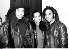 musicianandmusician: Terence Trent D'Arby, Neneh Cherry and Lenny Kravitz