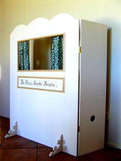 refrigerator box puppet theater children 39 s hour pinterest. Black Bedroom Furniture Sets. Home Design Ideas