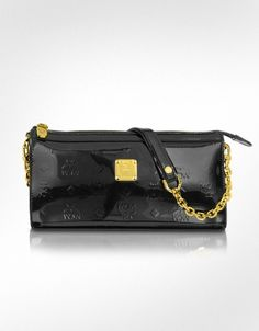MCM Ivana Patent Leather Clutch