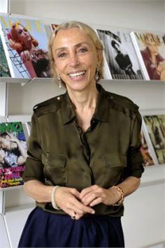 Franca Sozzani née le 20 janvier 1950, est rédactrice en chef de l'édition italienne du magazine Vogue depuis 1988