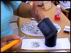 ▶ Tânia Islas aula de artesanato - YouTube