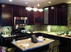 Tribecca kitchen cabinet design. Discounted kitchen cabinets by Kitchen Cabinet Kings at www.kitchencabinetkings.com - Buy Kitchen Cabinets Online and Save Big with Wholesale Pricing! #kitchen #cabinets #home #cabinetry