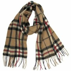 100% #Cashmere #Scarf #Thompson, like #burberry