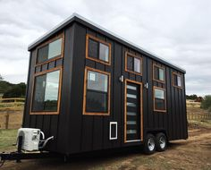 """201 Likes, 3 Comments - NOMAD tiny homes (@nomadtinyhomes) on Instagram: """"Dallas here she comes!! 🙌🏼 #nomadtinyhomes #tinyliving #tinyhouse #tinyhome #tinyhousemovement…"""""""