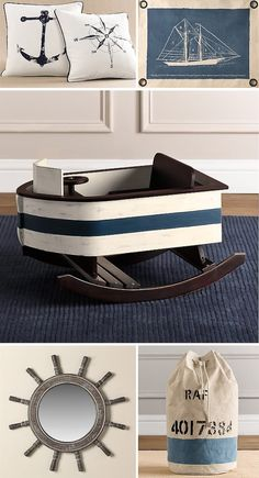 Nautical Nursery - that boat is too cute