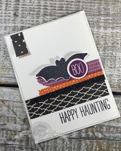 Cheer All Year stamp set, Halloween, DIY, Papercrafts - StampinByTheSea.com