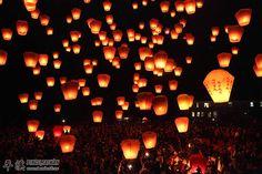 Taiwan-Sky Lantern Festival-Now on my Bucket List.