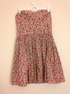 Jack Wills Liberty of London fabrics dress size 8 ditsy floral #LibertyofLondon #Sundress #SummerBeach