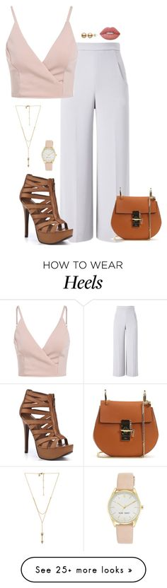 """""""1178"""" by sheiivaz-00 on Polyvore featuring Roland Mouret, Nine West, Rebecca Minkoff, Lime Crime, Chloé and Chinese Laundry"""