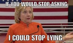 WHY HILLARY CAN'T STOP LYING