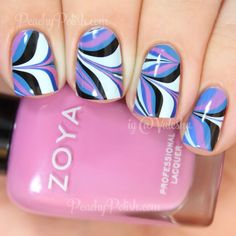 Pictures aren't mine unless otherwise stated If you are/know who the picture belongs to please let me know so i can give credit Home Ask Beautiful Nail Designs, Cute Nail Designs, Hot Nails, Hair And Nails, Water Marble Nail Art, Nail Envy, Cool Nail Art, Halloween Nails, Pretty Nails
