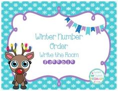 Practice putting numbers in order with this cute winter freebie.Includes 8 write the room cards and one recording sheet.