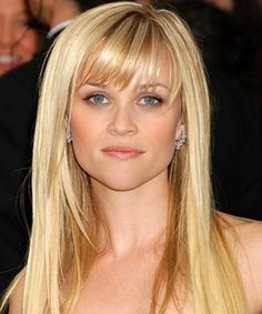 cute hairstyles with bangs for long thin and sleek hair | Long ...
