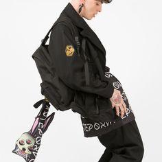 Chaqueta original Kabuki Jacket Hombre #kabukijacket #jacket #fashion #urbanfashion #rave #BCN #arteporvo #arte #clothes #chaqueta #kabuki -  https://arteporvo.com/ropa-accesorios/kabuki-jacket/