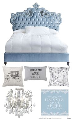 Cinderella Bedroom By Rapunzelcorona On Polyvore Featuring Haute House Park B Smith