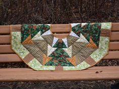 Quilted Christmas Stocking and Tree Skirt Patterns