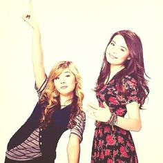 Carly e Sam Miranda Cosgrove, Jennette Mccurdy, Icarly, Disney Channel, Actors, Movies, Actor