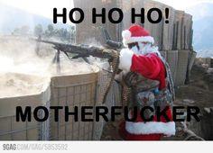 Bad ass Santa!