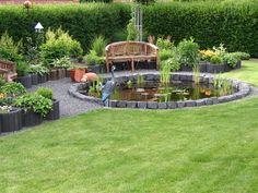 Gartenteich - Bilder und Fotos
