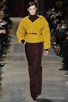 Haute Couture Fashion knitwear