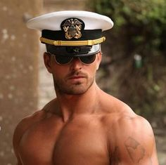 Men in uniform...or not!! Here he is, ladies! My first SEAL candidate for your approval!!