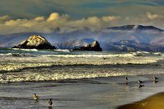 San Francisco beach.... by alexel