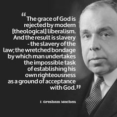 John Gresham Machen (1881–1937) was an American Presbyterian theologian in the early 20th century. He was the Professor of New Testament at Princeton Seminary between 1906 and 1929, and led a conservative revolt against modernist theology at Princeton and formed Westminster Theological Seminary as a more orthodox alternative. Machen is considered to be the last of the great Princeton theologians. He developed Princeton theology: a conservative and Calvinist form of Evangelical Christianity.