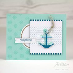 Paper Pumpkin Alternate April 2018 You Are My Anchor Kit. Charlet Mallett - Stampin' Up!