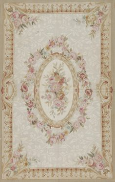 Dollhouse rug Samad Aubusson 113120 Area Rug