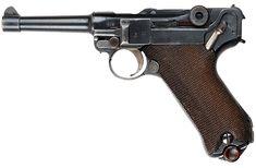 Luger P08 handgun.Loading that magazine is a pain! Get your Magazine speedloader today! http://www.amazon.com/shops/raeind