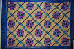 MYSTERY QUILT BY DEBBIE CAFFREY CALLED: BAUBLES AND BEADS
