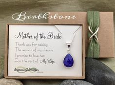 Mother of the Bride Gift from Groom  Thank by ImprintedMemories