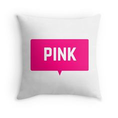 PINK #pillow