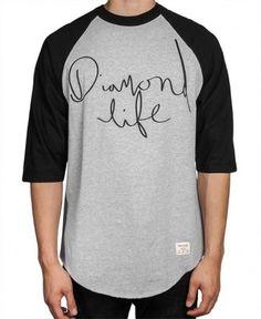 Diamond Supply Co. - Handwritten Raglan - $48