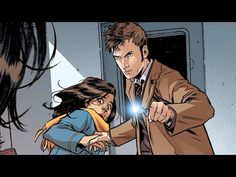 Doctor Who: The Tenth Doctor Vol. 1 Revolutions of Terror - Comic Book Series - Doctor Who - YouTube