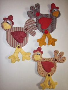 Easter Projects, Easy Sewing Projects, Sewing Crafts, Projects To Try, Potholder Patterns, Quilt Block Patterns, Chicken Crafts, Chicken Bird, Bird Crafts