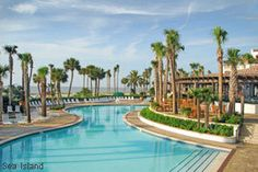 Sea Island Resort Swimming Pool, Sea Island, GA