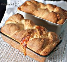Twisted Cheese Bread