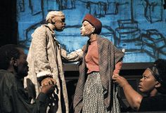 Woyzeck on the Highveld by the South African, Handspring Puppet Company, 2008.     Kentridge & HPC.