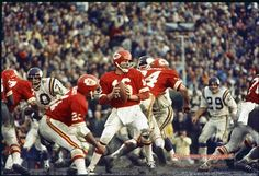 - Kansas City Chiefs 23 - Minnesota Vikings 7 January 1970 @ Tulane Stadium, New Orleans, Louisiana. Kansas City Chiefs Football, American Football League, Nfl Football Players, National Football League, School Football, Team Coaching, A Team, Super Bowl, City Super