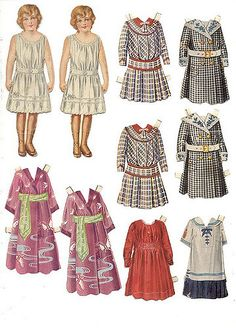Paper Toys, Paper Crafts, Doll Crafts, Origami Paper Art, Dollhouse Dolls, Victorian Dollhouse, Modern Dollhouse, Vintage Paper Dolls, Vintage Labels