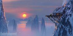 'Kung Fu Panda 3′ Concept Art: Life in Panda Village