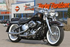 #Harley Softail Heritage 110th by #Thunderbike