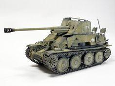 GERMAN TANK DESTROYER MARDER III Sd.Kfz.139 7.62cm Pak36(r) Auf Gw. 38(t) (TAMIYA)
