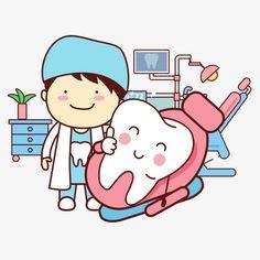 Diente de dibujos animados Vector, Cartoon, Diente, Dentista PNG y Vector