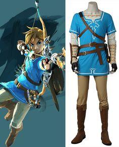 The Legend Of Zelda, Legend Of Zelda Breath, Link Zelda Costume, Legend Of Zelda Costume, Cosplay Costumes For Sale, Anime Cosplay Costumes, Halloween 2019, Halloween Costumes For Kids, Link Cosplay