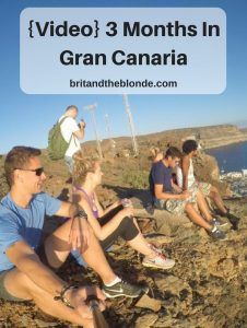 {Video} 3 Months In Gran Canaria - The Brit & The Blonde
